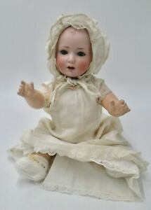 Antique Cute Bisque Baby B-S 2 Germany