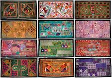 Lot of 30pc Wall Hanging Vintage Bohemian Patchwork Hand Table Runner Home Decor