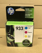 HP Authentic  Ink Cartridge, 933 Color - Cyan, Magenta, Yellow, Exp 2021
