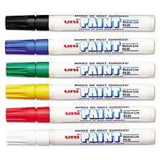 uni-Paint Marker Medium Point Assorted 6/Set 63630