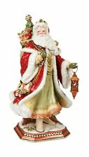 Fitz and Floyd Damask Holiday Collectible Figurine, 19-Inch, Muli Colored