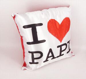 Cuscino 30 x 30 I Love Papi - Festa del Papà - Rimini Gadget -  festa