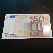 50 EURO LETTRE X  2002 G26F4 NEUF/UNC