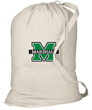 Marshall University Laundry Bag MARSHALL CLOTHES BAG - With SHOULDER STRAP!