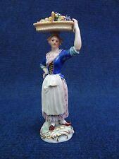Meissen Porcelain Statue Fruitseller Cries of Paris series 19th C. Cris de Paris