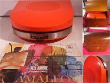 Mangiadischi vintage anni 60 GRUNDIG PHONO-BOY + dischi e borsello (era Penny)