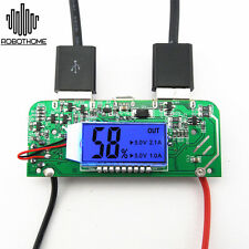 Two-USB 5V 2.1A 1A Mobile Power Bank Charger PCB Board Stable for 18650 Battery