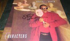 Stevie Wonder Characters Hand Signed Album Hand Vinyl Autographed PROOF W/COA