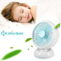 AU_ FP- KQ_ KE_ Mini Portable USB Home Table Desktop Adjustable Cooling Fan Air