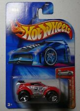 Hot Wheels 2004-054 First Editions Red 'Tooned Mitsubishi Pajero Evolution 1:64