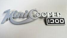 Genuine OEM Innocenti Mini Cooper 1300 Badge Boot lid or grille Partsnr AXE72