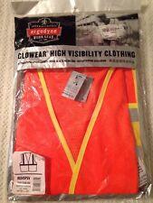 Ergodyne Glowear High Visibility Clothing #8245PSV Public Safety Vest L/XL