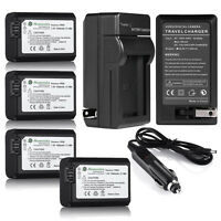 NP-FW50 Battery for SONY A3000 A5000 A6000 A7 NEX-5T NEX-6 NEX-7 NEX-3N +Charger