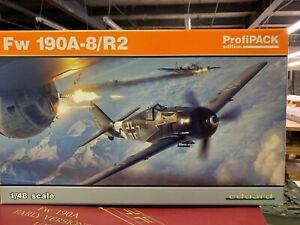 Eduard 82145 Focke-Wulf Fw190A8/R2 Aircraft 'Profi-Pack' 1/48 Scale Model Kit