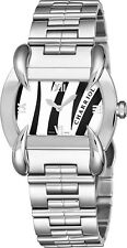 Charriol Women's Kucha Zebra Dial Stainless Steel Quartz Watch KUCHTL110KTL003