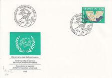 Schweiz  FDC Ersttagsbrief 1983 UPU Weltpostverein  Mi.Nr.14