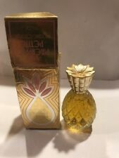 Vintage 1972 Avon Pineapple Petite Brocade Cologne-New In Box-Free Shipping