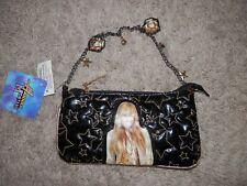 Disney Hannah Montana Miley Cyrus Girls Rock Black star small purse new