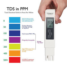 Digital TDS EC Meter Tester LCD Pen Monitor Aquarium Pool Hydroponic Water KY