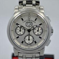 Carl F. Bucherer Patravi Stainless Steel Chronograph 11.0419 Automatic Watch