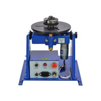 """220V 10KG Table Rotary Welding Positioner Turntable Mini 2.5"""" 3 Jaw Lathe Chuck"""