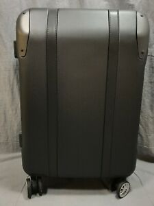 Pottery Barn Charcoal Medium Suitcase Spinner Luggage