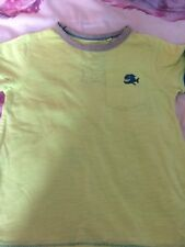 Boys Next Bright Yellow Short Sleeved T-shirt Age 3 Years