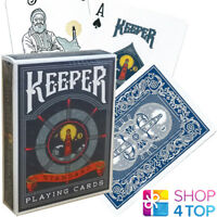 ELLUSIONIST KEEPER BLUE BICYCLE PLAYING CARDS DECK MAGIC TRICKS NEW