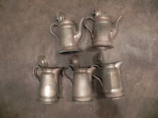 Reed & Barton  sterling silver soldered 2800 2801 9 OZ 5 total