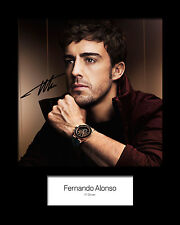 FERNANDO ALONSO #1 Signed Photo Print 10x8 Mounted Photo Print - FREE DELIVERY