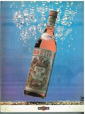 Publicité Advertising 1978 Apéritif Martini