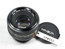 MINOLTA MD 50mm 1:1.7 SR/SRT/X SERIES W/CAPS