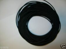 "5 Feet 1/16"" I.D x 1/32"" w x 1/8 O.D >> USA Made Latex Rubber Tubing Black"