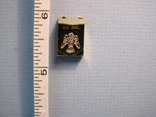 Dollhouse Miniature Brass Mailbox - Clare-Bell Brass #1930-100 Clare-Bell Brass