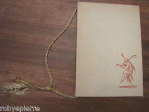 Calendario Balli di Sfessania Jacomo Callot Vallardi 1956 Giordano dell'amore n0