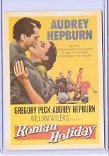 VINTAGE REPRO MOVIE POSTER ROMAN HOLIDAY REPRODUCTION POSTCARD