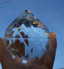 3.5INCH Chandelier CRYSTAL Ball Glass Prism Lamp Pendant Home Decor SUNCATCHER