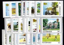 Guernsey Postkartenserie Ansichten von Guernsey 25 Karten 1984/91