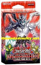 Yu-Gi-Oh! Attacco degli Eroi 1a edizione structure deck mazzo in italiano