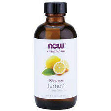 Lemon Oil (100% Pure), 4 oz - NOW Foods Essential Oils
