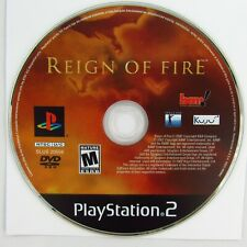 """""""Reign of Fire"""" Sony Play Station 2 2002 PS2 Disc Only"""