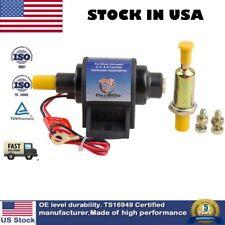 4-7 PSI Universal Electric Fuel Pump For w/Carburetor 35 GPH 12V Micro Fuel Pump