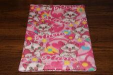 New Disney Aristocats Marie Pink Fleece Dog Cat Pet Carrier Bed Blanket Pad BCR