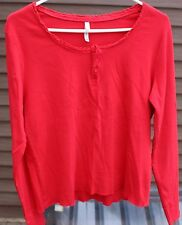 Women's Red Shirt by White Stag; Size:  12/14