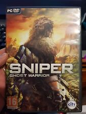 Sniper - Ghost Warrior - PC GAME - FREE POST