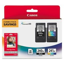 Canon PG-240XL/CL-241XL High-Yield Ink & Paper Combo Pack
