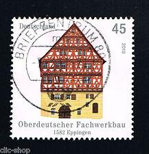GERMANIA 1 FRANCOBOLLO ARCHITETTURA EPPINGEN 2010 usato