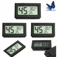 5PS Hygrometer Mini Digital LCD Temperature Humidity Display Meter Home Thermome