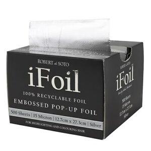 Robert De Soto IFoil Embossed Interleaved Foil 500 Sheets 12.7cm x 27.3cm