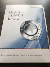 5 Euro Blauer Planet In Silber Mit Goldmünze Komplettsatz Spiegelglanz